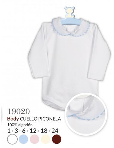 BODY CUELLO PIQUILLO